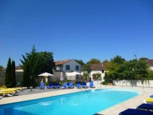 The swimming pool at or near Domaine Les Granges