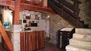 A kitchen or kitchenette at Agroturismo Iabiti-Aurrekoa