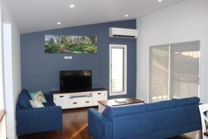 A seating area at Deep Blue, 5 Kinchela Street,