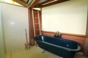 A bathroom at Delicate Nobby Artist Studio, 898 Point Plomer Road