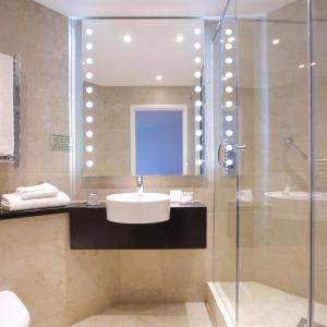 A bathroom at Bermondsey Square Hotel - A Bespoke Hotel