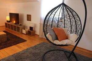 Posezení v ubytování Apartment Iris