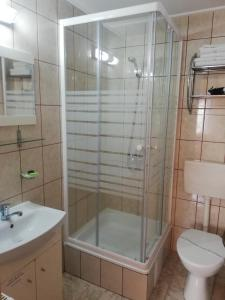 A bathroom at Casa Soare