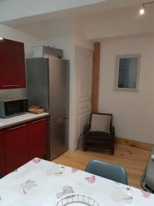 A kitchen or kitchenette at bord d'oriege