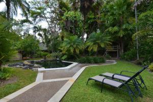 A garden outside Coral Gardens Port Douglas