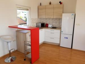 A kitchen or kitchenette at Villa Malo Misto