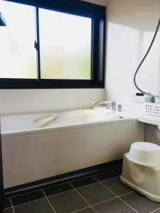 A bathroom at Shimanto River House Yuube-Tei