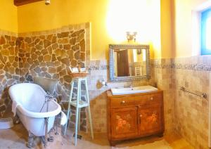 Um banheiro em Casa Bertha