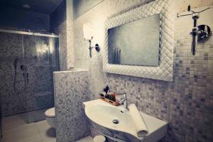 Kúpeľňa v ubytovaní Bed&Bike Prachatice