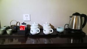 Utensilios para hacer té y café en Huangshan Yupinglou Hotel