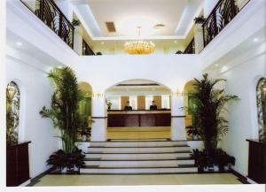 منطقة الاستقبال أو اللوبي في فندق أسيت شنغهاي