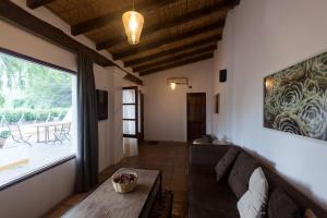 A seating area at El Porvenir Casa de Bodega