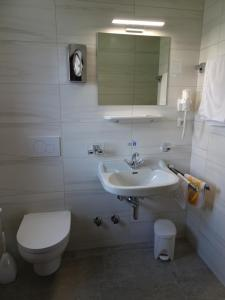 A bathroom at Pension Friedl