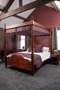 A bunk bed or bunk beds in a room at The Peacock