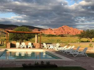 The swimming pool at or near Castillos de Cafayate