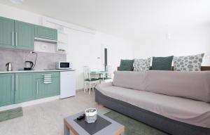 Posezení v ubytování apartments in Karolina Plazza
