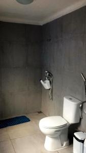 A bathroom at Casa Maranha
