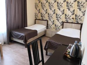 Кровать или кровати в номере Гостевой дом - Как дома