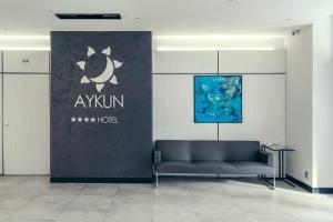 AYKUN Hotelのロビーまたはフロント