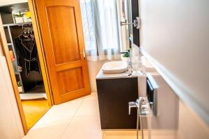 Ein Badezimmer in der Unterkunft Hotel Grande Italia