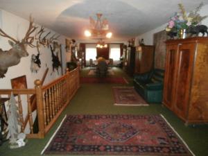 Lobby/Rezeption in der Unterkunft Gasthof zum Löwen