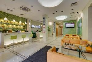 The lobby or reception area at Nashotel