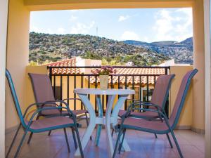 Μπαλκόνι ή βεράντα στο Sunshine Studios & Apartments