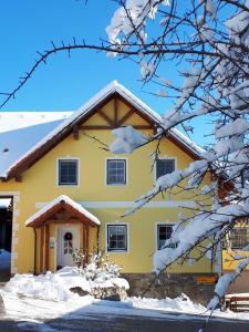 Gästehaus Gnant im Winter