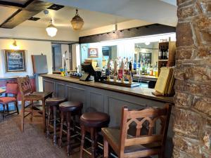 The lounge or bar area at Sparkford Inn