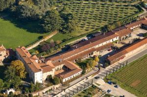 Vista aerea di Borgo Santa Giulia