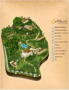 A bird's-eye view of Kallikoros Country Resort & Spa