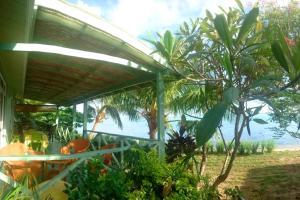 The swimming pool at or near MOOREA - Fare Taina (Iti & Nui)