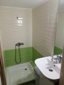 A bathroom at Pershyy Hostel u Cherkasah