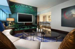 A television and/or entertainment center at W Los Angeles – West Beverly Hills