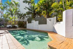 The swimming pool at or near Dockside Apartments Mooloolaba