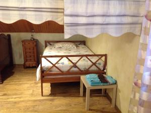 Un ou plusieurs lits dans un hébergement de l'établissement La Sapotine