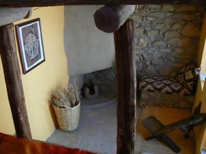 Salle de bains dans l'établissement Les Terrasses de l'Atlas