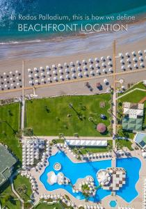 A bird's-eye view of Rodos Palladium Leisure & Wellness