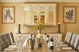 A restaurant or other place to eat at The Royal Oak, Yattendon