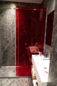 A bathroom at Hotel Milù