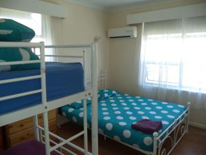 A bunk bed or bunk beds in a room at Port Adelaide Backpackers