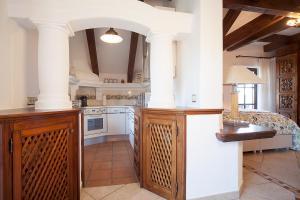 Küche/Küchenzeile in der Unterkunft Romantik Villa