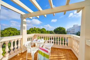 Balkon lub taras w obiekcie Gavimar La Mirada Hotel and Apartments