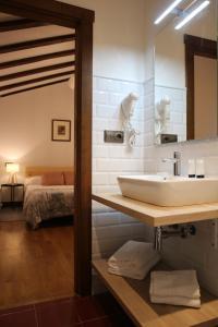 Un baño de Casa Rural Iruso