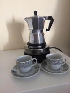 Facilități de preparat ceai și cafea la Pension Itzes