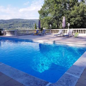 The swimming pool at or near Villa Manoe