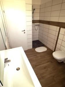 Ein Badezimmer in der Unterkunft Ampflwang Apartments