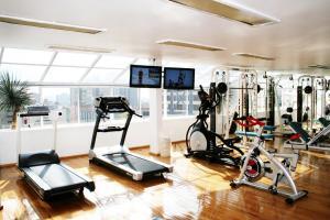 Фитнес-центр и/или тренажеры в Suites Amberes