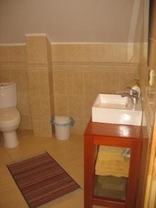 Łazienka w obiekcie Pod Dobrym Aniołem