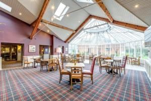 A restaurant or other place to eat at Lea Marston Hotel